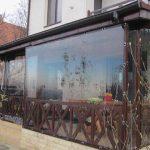 rulouri exterioare transparente aplicate pe ferestre